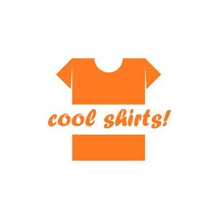 T-shirt. Cool shirts. Vector Illustration Standard-Bild - 129443040