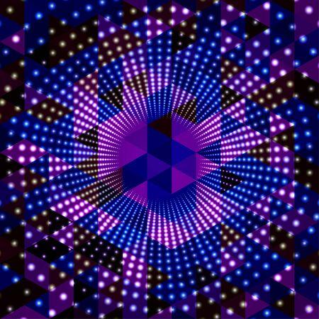 Illumination abstract background. Vector Illustration
