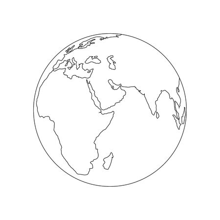 Earth for Your business. Vector Illustration