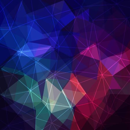 Triangular abstract background Reklamní fotografie - 129443264