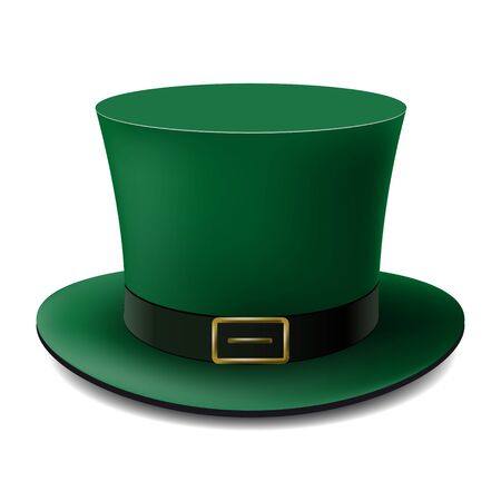 St.Patrick s Day Hat For your business project. Vector Illustration