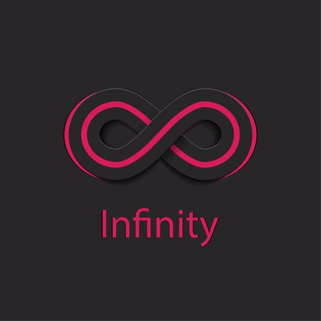 Infinity Symbol. Vector Illustration