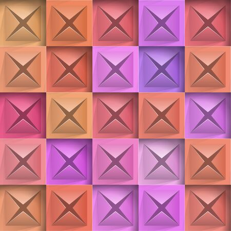 Abstract background stone squares. Vector Illustration 向量圖像
