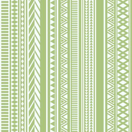 Geometric seamless pattern olive vintage
