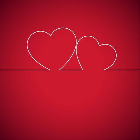Heart. Happy Valentine's Day. Vector Illustration