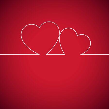 Heart. Happy Valentine's Day. Vector Illustration