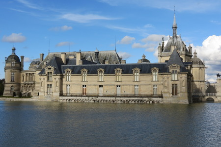 opulence: old french castle by the lake