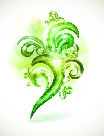 Beautiful abstract design element. Çizim