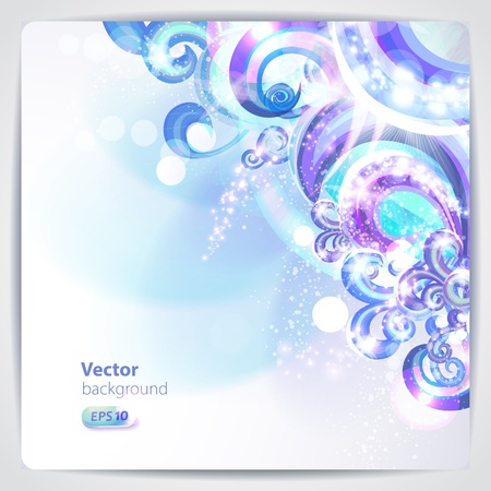 Abstract background with design elements. Illustration
