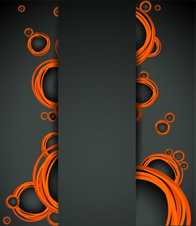 abstract with bubbles element