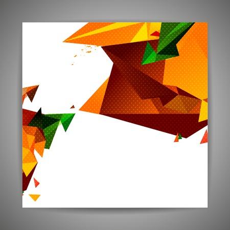 Polygonal geometric background for modern design