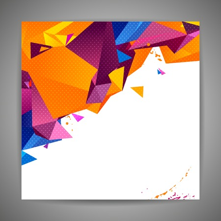 youth: Polygonal geometric background for modern design