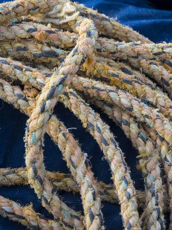 marche: Fishermans rope, Conero, Marche, Italy