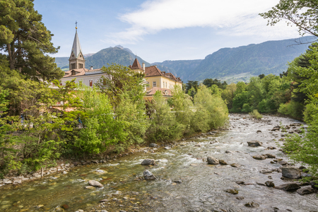 The most beautiful promenade in Merano is, however, the Tappeiner Trail, crossing the sunny south side of the K�chelberg. It is named after its initiator, the Merano spa physician Franz Tappeiner.