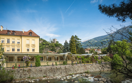 The most beautiful promenade in Merano is, However, the Tappeiner Trail, crossing the sunny south side. It is named after its initiator, the Merano spa physician Franz Tappeiner.