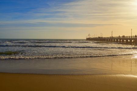 forte: Forte dei Marmi pier view in Versilia