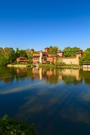 medieval village in valentine park