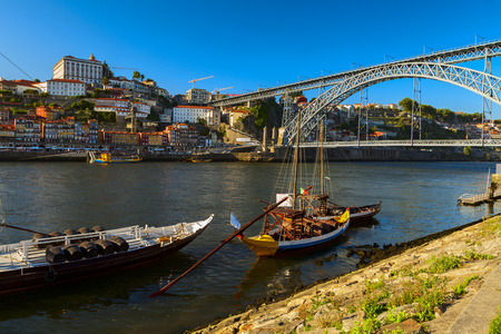 ribeira: porto view in the ribeira district
