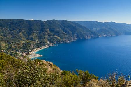 ''cinque terre'': beautiful cinque terre view on a sunny day