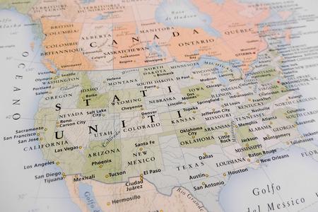Kaart van Verenigde Staten