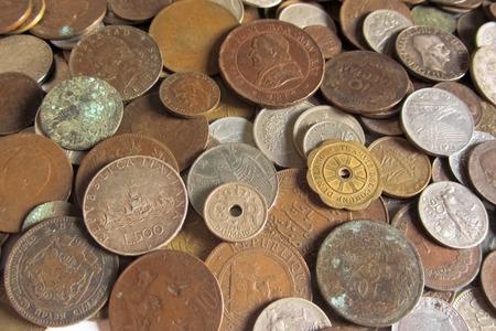 oude munten: oude munten uit verschillende landen