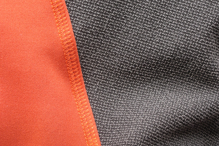 kevlar: Kevlar insert on technical mountain jacket in microfleece