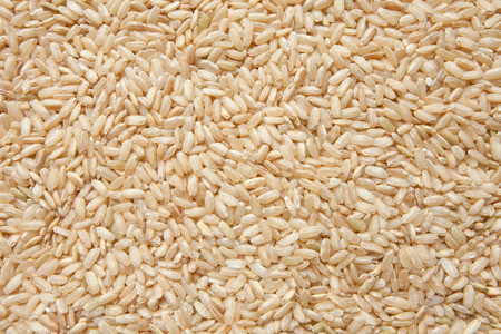 brown rice texture Stock Photo