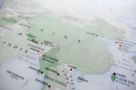 china map: China map