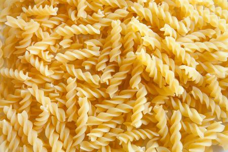 fusilli: Italian pasta texture: fusilli