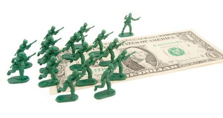 wojenne: atak dolara