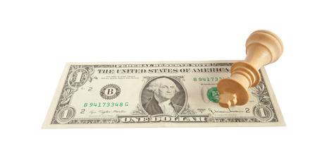 Schachmatt: Schachmatt auf US-Dollar-