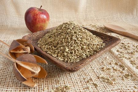 finocchio: semi di finocchio come ingrediente naturale
