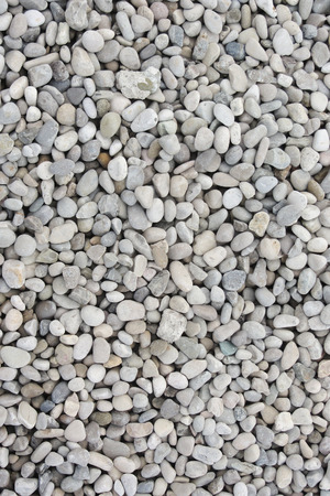 white gravel as texture