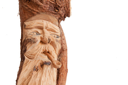 tyrol: Popular wood sculpture from South Tyrol, Italy