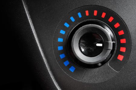 temperature controller: temperature controller set at high values