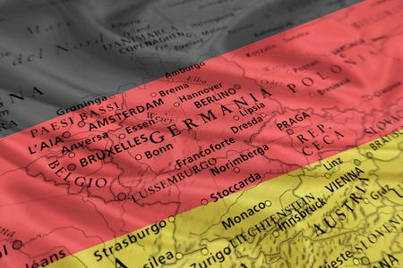 deutschland karte: Deutschland-Karte (Europa) Lizenzfreie Bilder