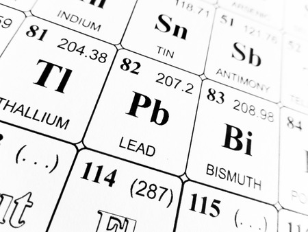 lead on the periodic table of the elements