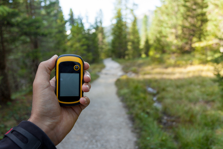 finding the right position in the woods with a gps