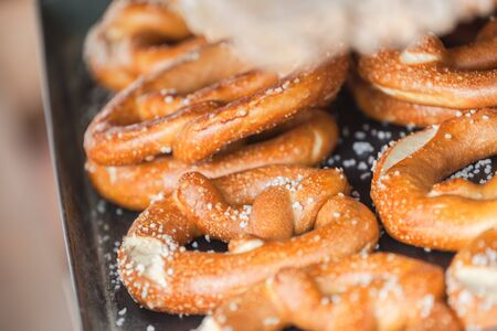 Bretzel, traditional German bread