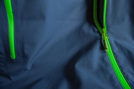 waterproof technology for mountain clothes Standard-Bild