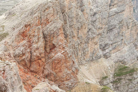Landscapes from the top of the Sass Ciampac, in Dolomites