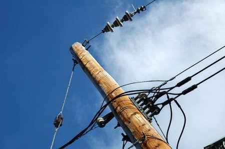 Eléctrica puesto al aire libre con cielo azul en el fondo  Foto de archivo - 419681