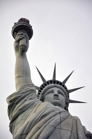 Las Vegas, Nevada, December, 30, 2009, Statue of Liberty at New York New York Casino Hotel