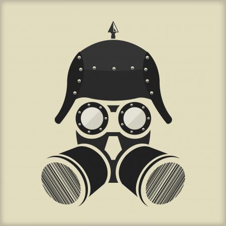 ゴーグルでスチーム パンクなビンテージ キャラクター デザイン