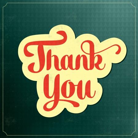 caes: Plantilla del d�a de Acci�n de Gracias - Gracias - tipogr�fico del cartel del vintage con el fondo retro