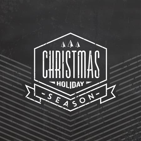 typographic: Christmas Typographic Background  Merry Christmas