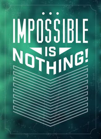 typographic: Typographic Background  Motivational Quote Illustration