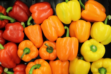 bell peppers: assorted bell peppers