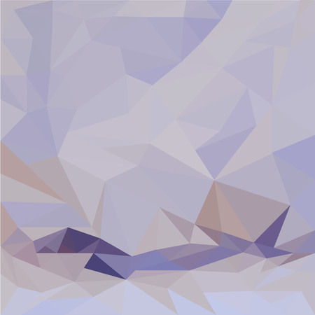 Abstract background with violet lilac triangles Illustration