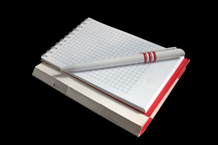 pen, notebook, notes, spirals, paper Stock Photo - 2057739